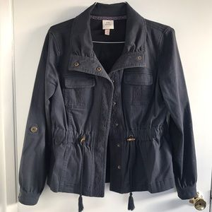 Knox Rose twill jacket.